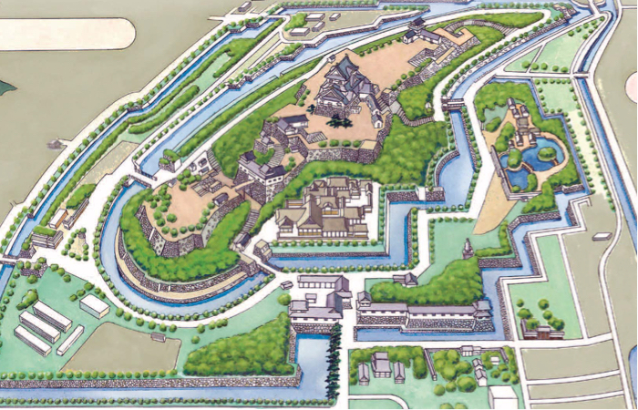 Castle Map Visit Hikone Visit Hikone